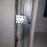 Изготовление откоса из гипсоволокна