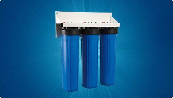 Трехступенчатый фильтр