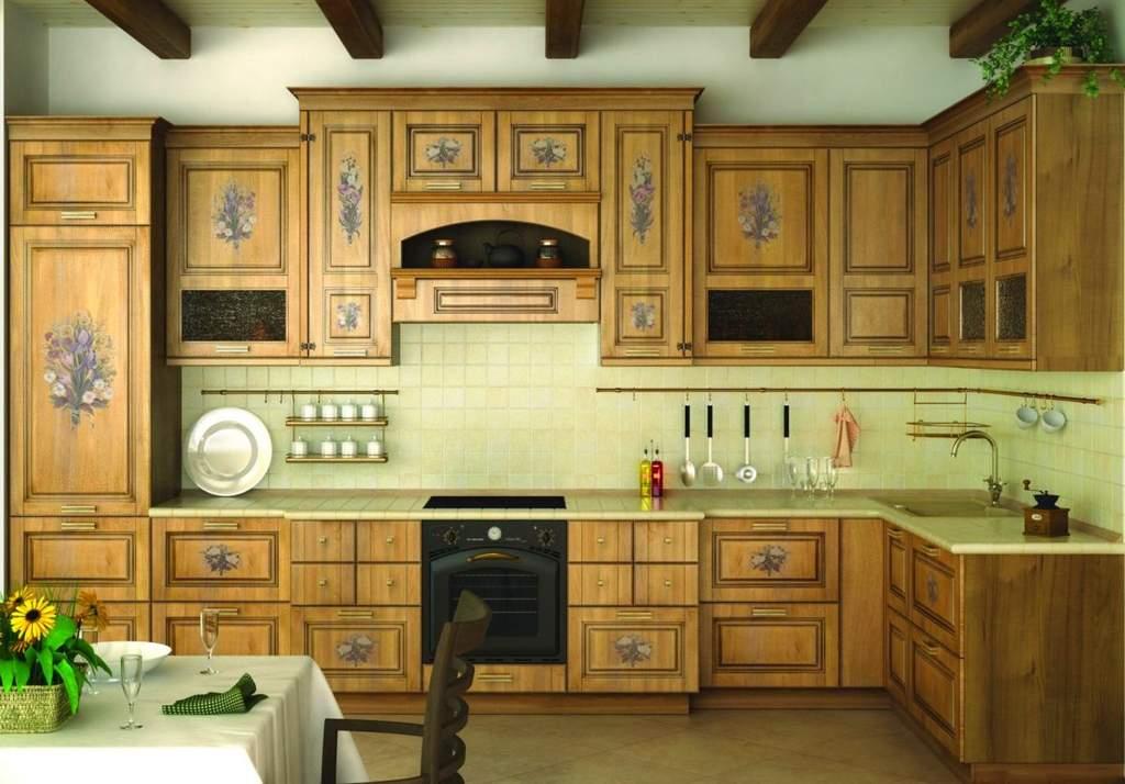 Как обновить кухонный гарнитур своими руками покрасив его фото 71