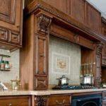 Кухня, обновленная с помощью лака