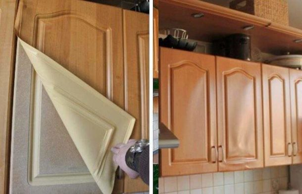 Реставрация кухонного гарнитура своими руками: мастер-классы, фото до и после