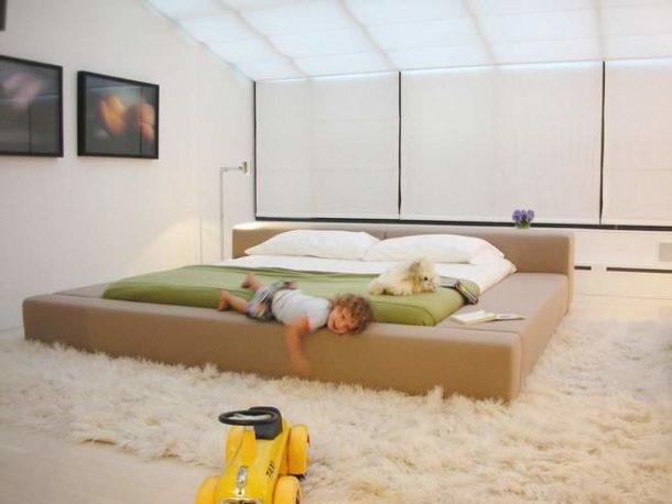 Покупная кровать-подиум