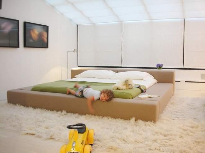 Кровать - подиум - обсуждение на форуме «Дизайн, ландшафт