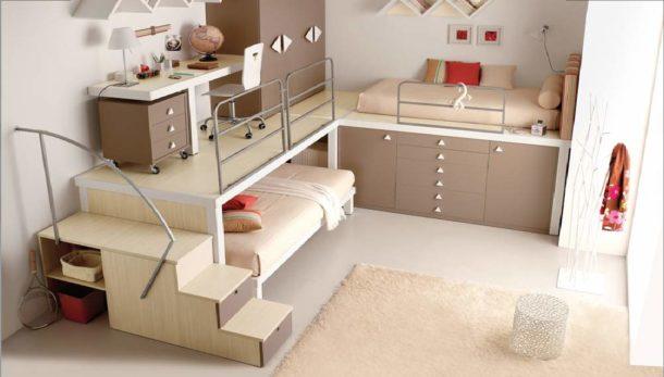 Высокая многофункциональная конструкция для детей