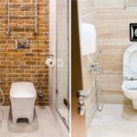 Гигиенический душ в интерьере