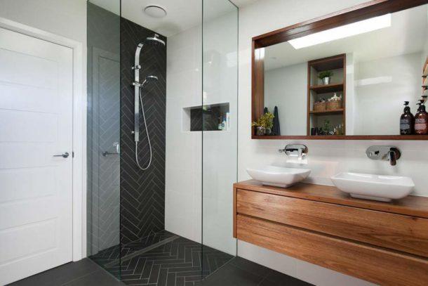Мебель в современной ванной