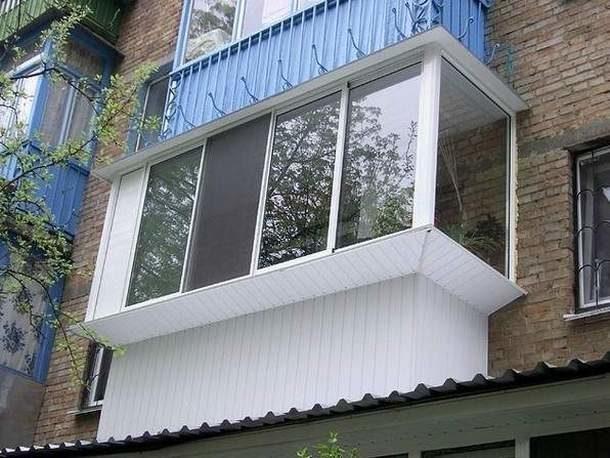 Остекление старого балкона