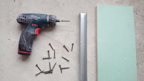 Рассчитываем расход крепежа на гипсокартонный лист