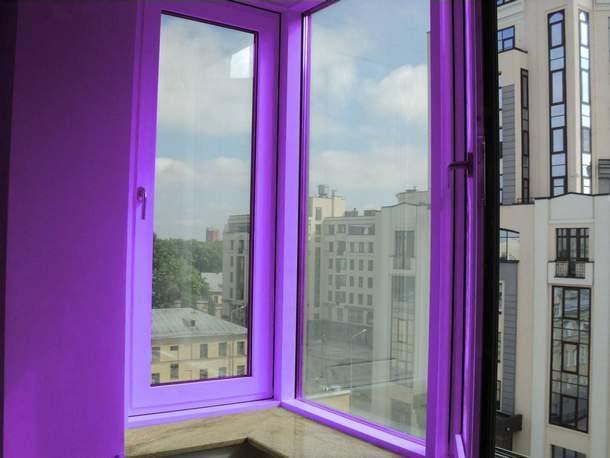 Вид цветного окна