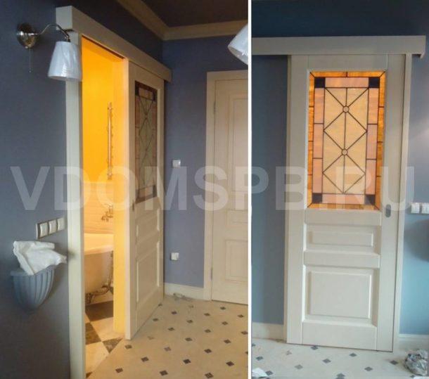 Раздвижная дверь в ванную и туалет