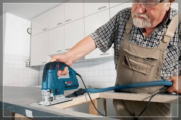 Замена столешницы на кухне: выбираем материал и цвет, процесс и инструменты - Стройка