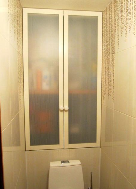 Изготовление полки в туалете
