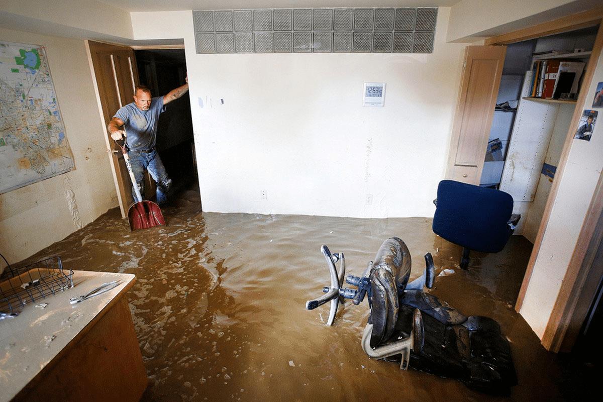 потоп в квартире фото картинки может