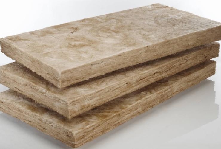 Плиты из минеральной ваты на синтетическом связующем
