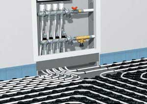 Способы установки теплого пола в каркасных домах