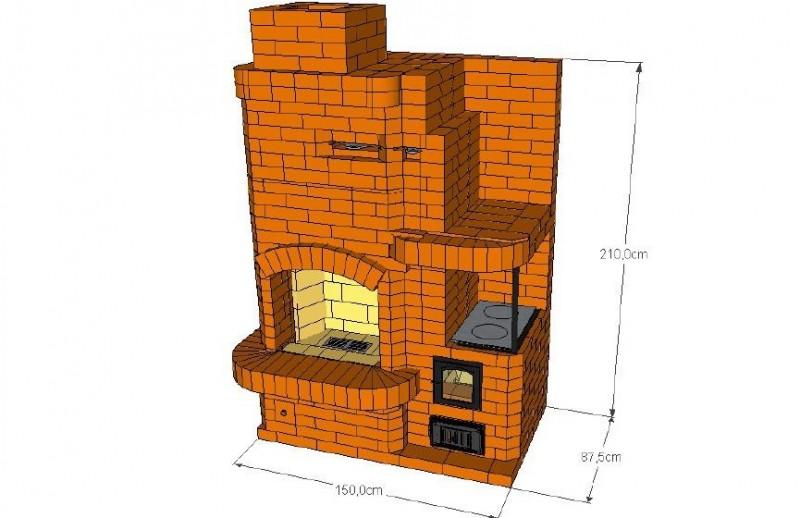Обустройство дровяного камина на даче