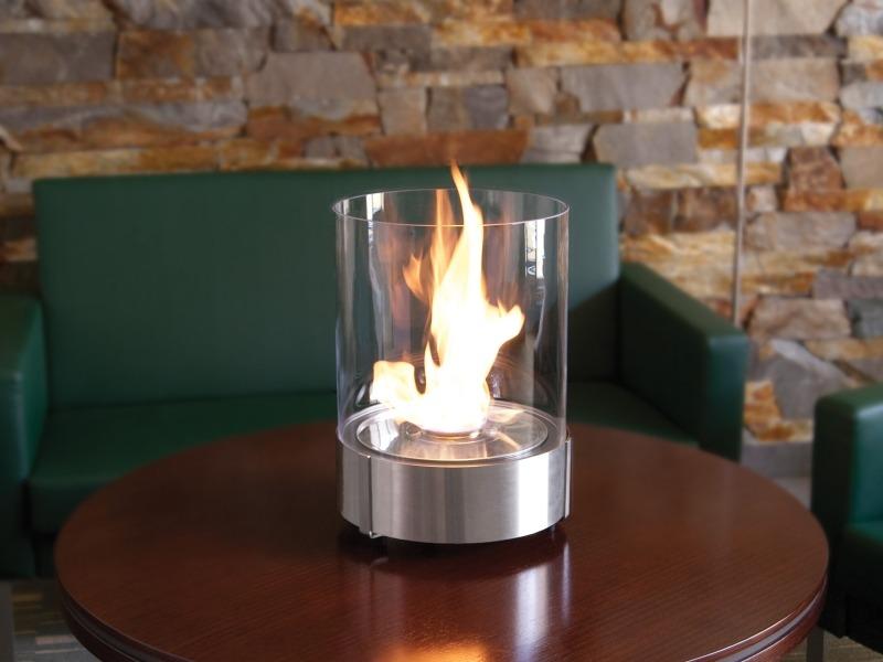 Как сделать искусственный огонь