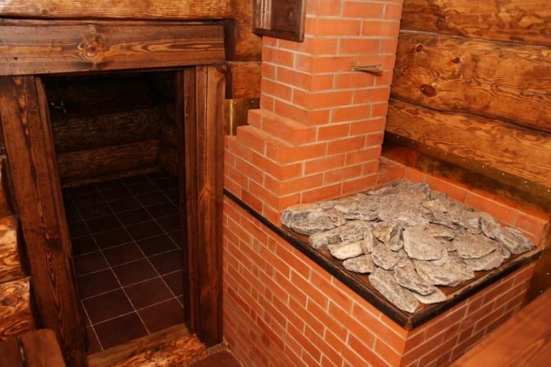 Как сделать обкладку печи в бане кирпичом пошаговая инструкция