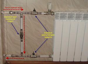 Как грамотно слить воду из батареи отопления