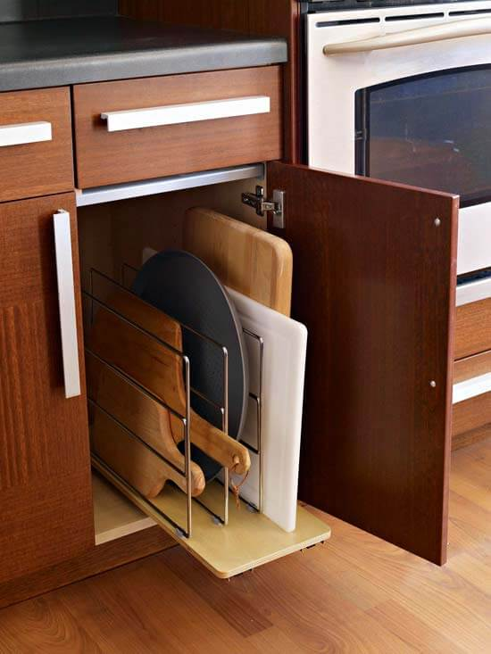 Шкаф под мойкой как дополнительное место хранения