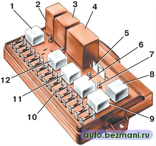 система охлаждения двигателя ваз 2115 инжектор схема