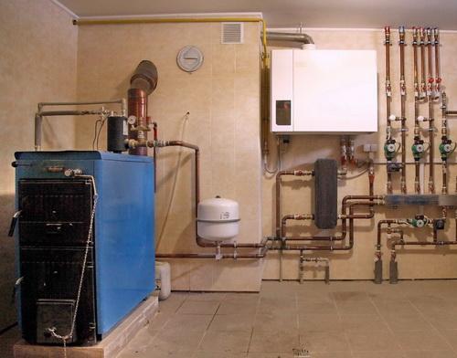 Каскадная система отопления