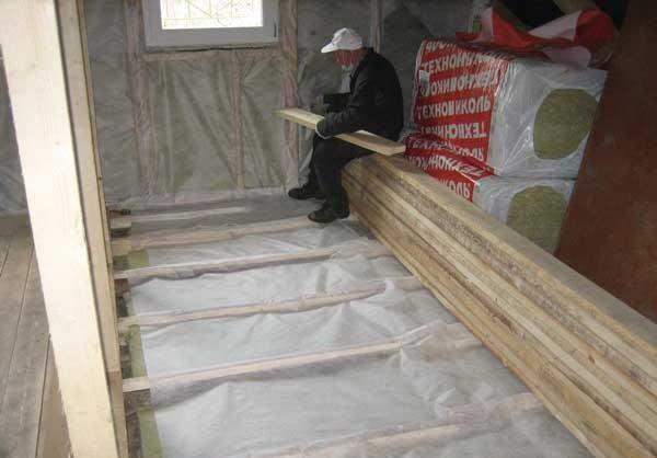 Утепление пола на даче выбор материалов и технологии монтажа