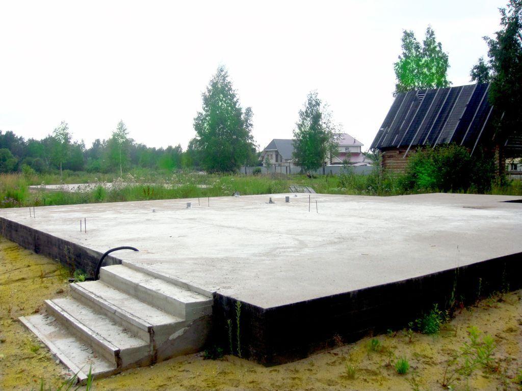 Толщина бетона в ушп