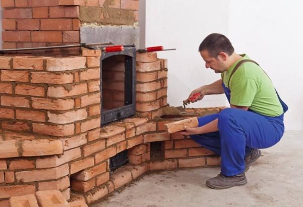 Как из печки сделать камин