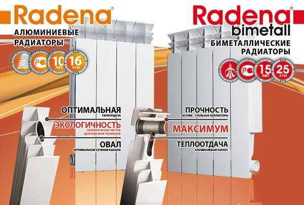 Радиаторы Радена технические характеристики и отзывы