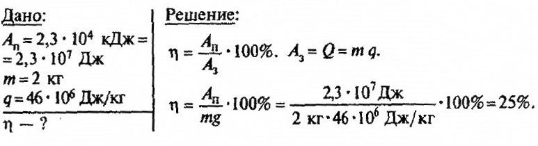 Что такое коэффициент полезного действия двигателя
