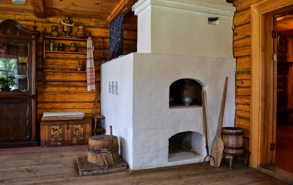 фото старых русских печей в деревне амуре обитают хищники
