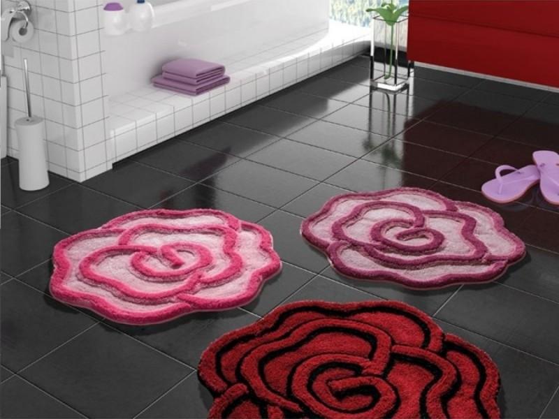 Тонкости изготовления коврика для ванной комнаты